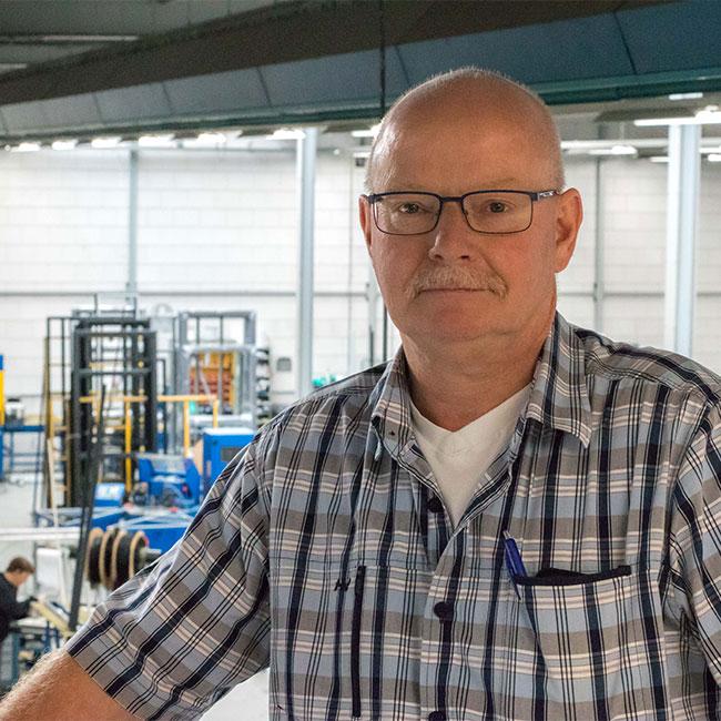 Hans van Putten - Productieleider
